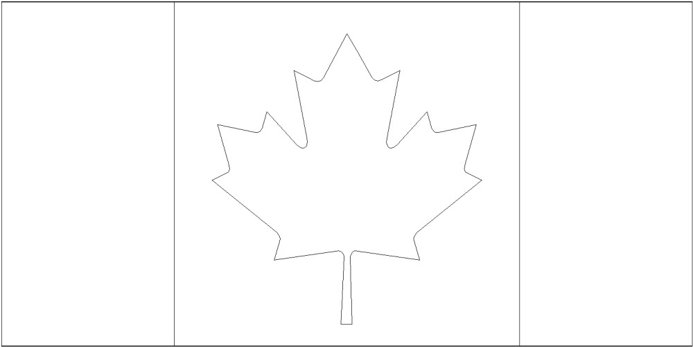 - FREE Printable Canada Flag & Color Book Pages 8½ X 11