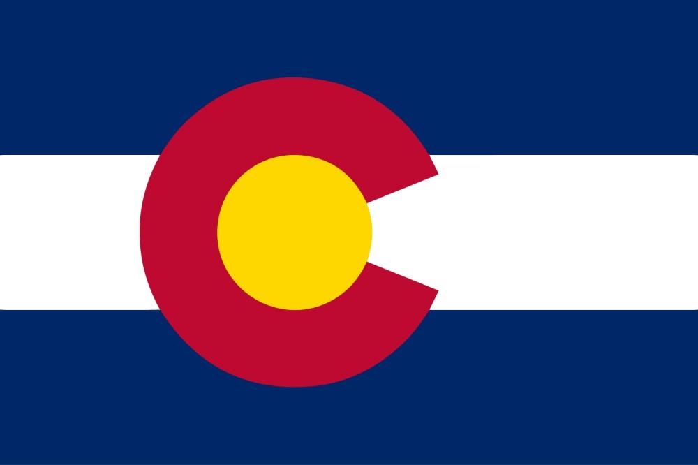Free Printable Colorado State Flag Color Book Pages 8 X 11 - Colorado-state-flag-coloring-page