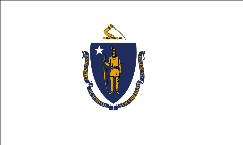 Massachusetts Flag Coloring Page - Coloring Home | 600x1000
