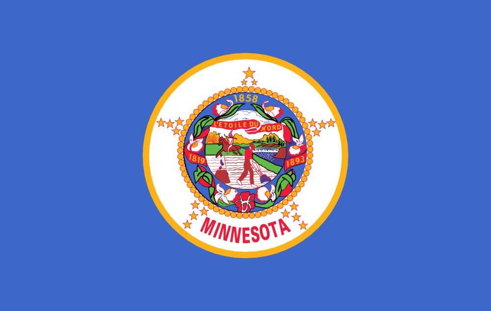 Printable Minnesota State Flag