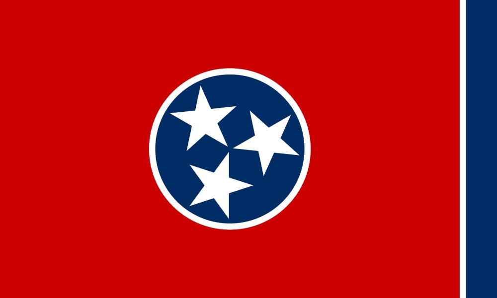 Free Printable Tennessee State Flag Amp Color Book Pages
