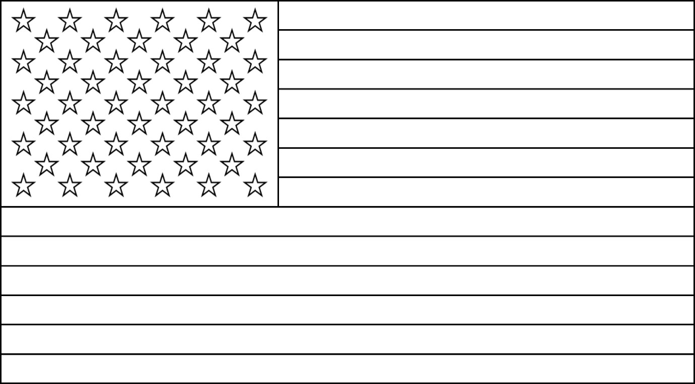American Flag Coloring Pages - Best Coloring Pages For Kids | 764x1380