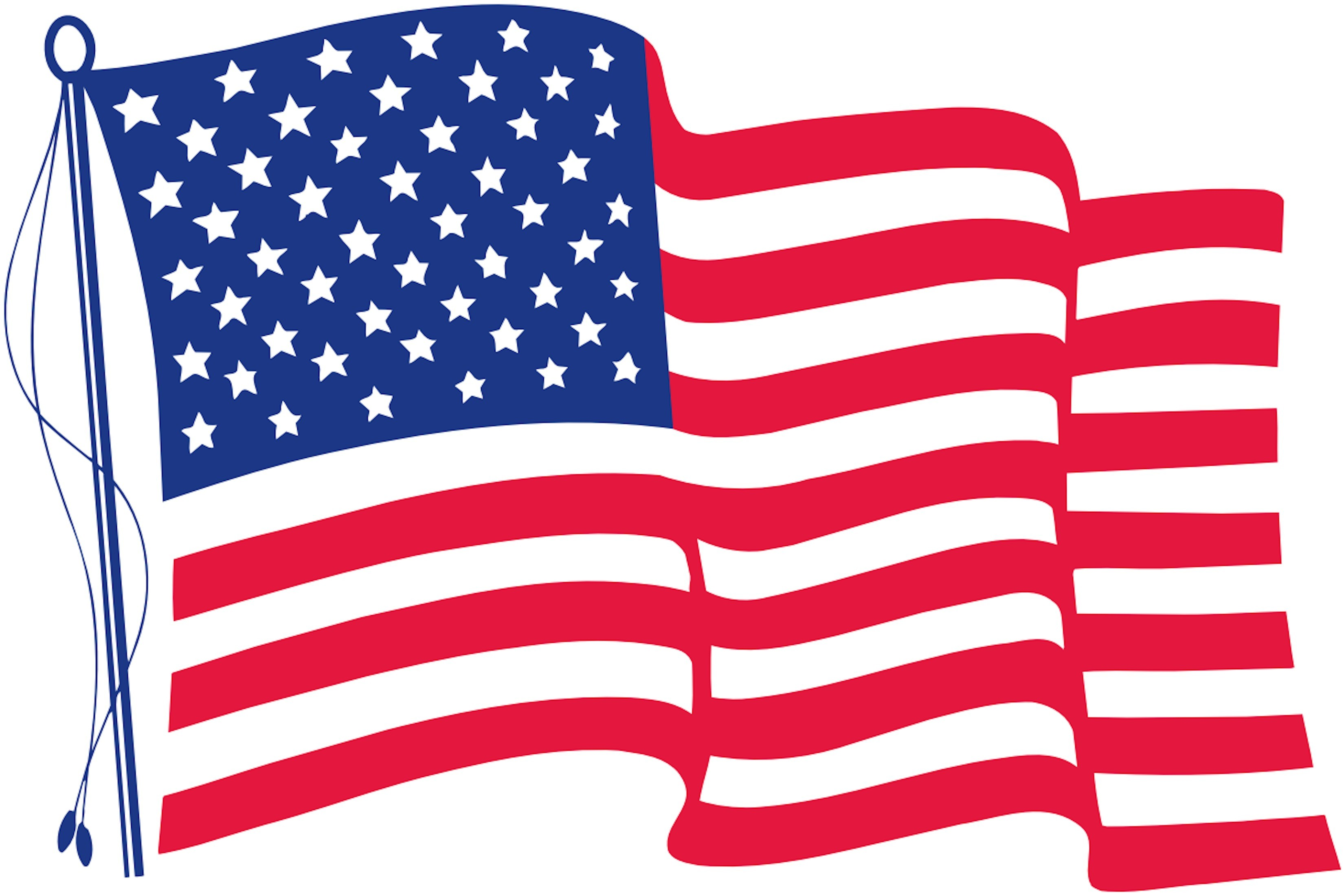 Geeky image throughout printable us flag