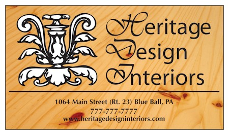 Images of our Custom Full Color Business Cards No. 477