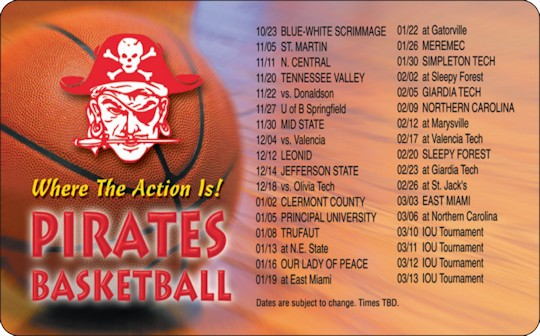 Images of our 2019-2020 Local Team Schedules No. 3324
