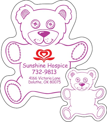 Images of our teddy bear Refrigerator Magnet No. 415