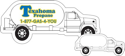 Images of our propane truck Refrigerator Magnet No. 441
