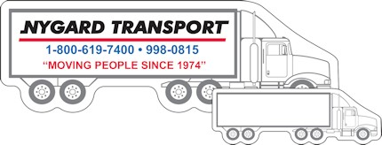 Images of our semi truck Refrigerator Magnet No. 576