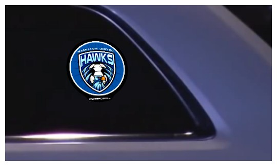 Image of Custom Printed Lighted Sticker by deSIGNery