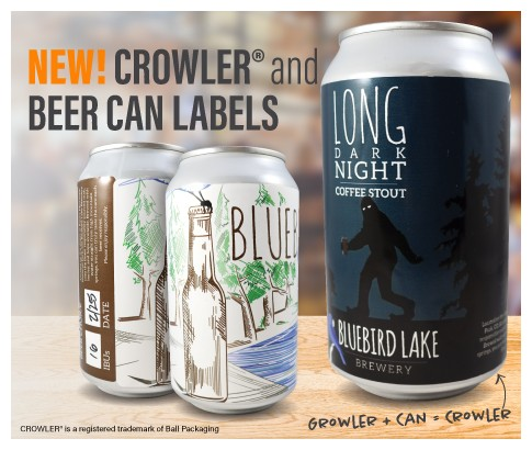 Image of Beer Can Labels by deSIGNery
