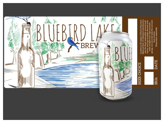 Images of our Beer Can Labels No. 5930