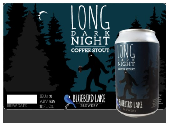 Images of our 12 oz and 32 oz Beer and Crowler Labels No. 5070
