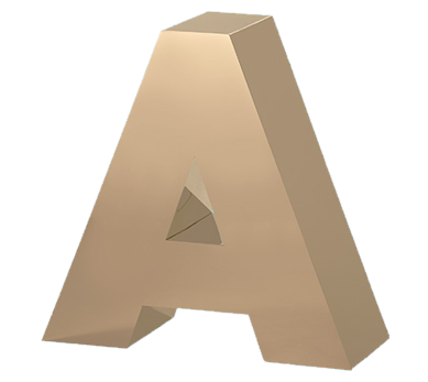 Gemini Fabricated Metal Letters