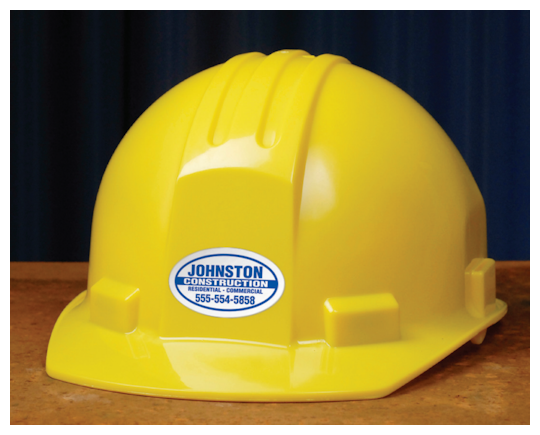 Image of Hard Hat Stickers by deSIGNery
