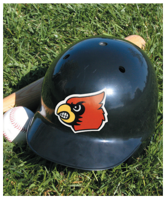 Image of Custom Football & Baseball Helmet Decals by deSIGNery
